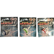 1978 Battlestar Galactica Galactic Cruisers Set of 3 NEW in package