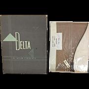 Vintage Delta Ladies Stockings in Box
