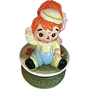 1970's Raggedy Ann and Andy Music Box Song- The Muffin Man