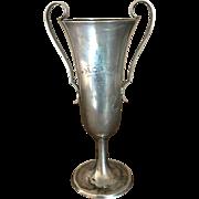 Antique Sterling Trophy Urn Engraved M.O. GAY 1916