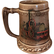 McCoy Brown Mug/Stein USA by Rickett 1858 Rotary Cultivator