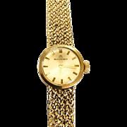 Lovely Ladies Vintage Bucherer 18k Gold Watch