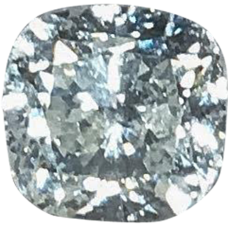 0.96 Carat F SI2/SI3 Cushion Cut Loose Diamond