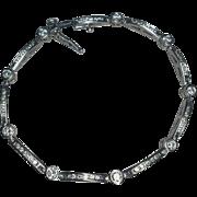 """14k White Gold Diamond Bracelet 2.25 cttw 7"""""""
