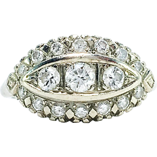 Vintage 14k 0.50 Carat Diamond Ring