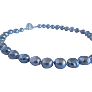 Cultured fresh water baroque pearls