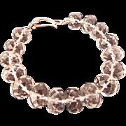 Natural Quartz Crystal bracelet