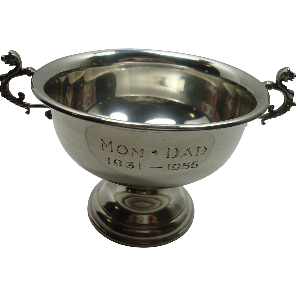 Reed and Barton Sterling Silver Christening Cup