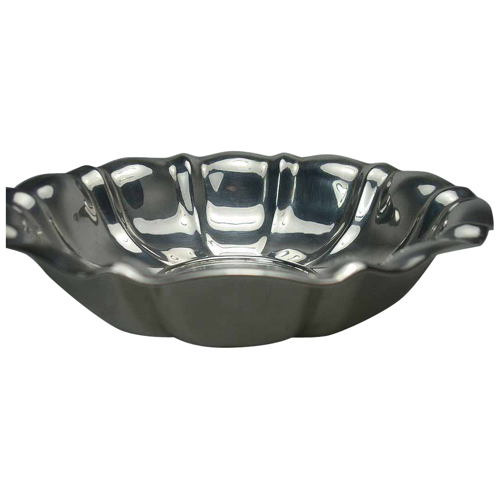 Fisher Sterling Candy Nut Bowl