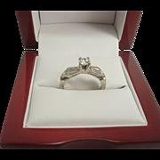 14K .45 cttw Diamond Estate Ring
