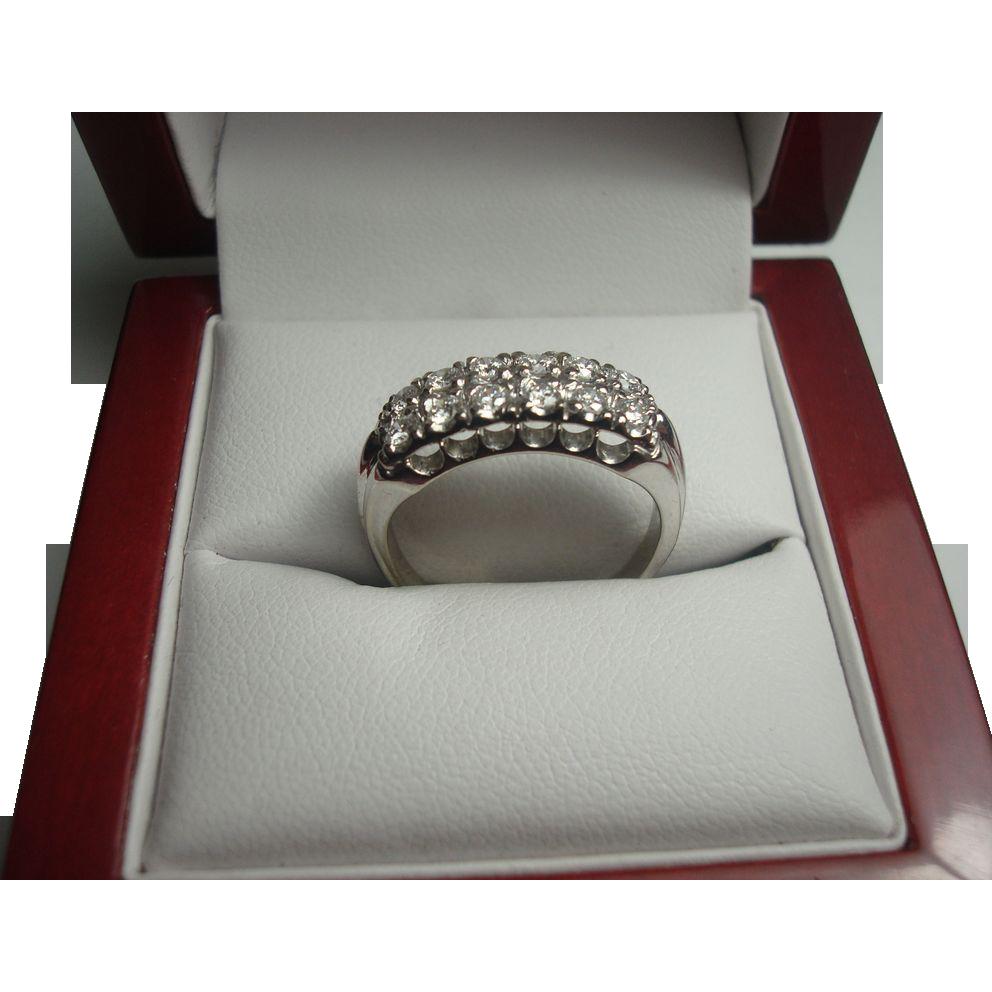 14K .60 cttw Diamond Ring