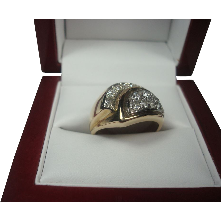 14K .35 cttw Diamond ring