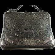 Blackinton Art Nouveau Sterling Purse