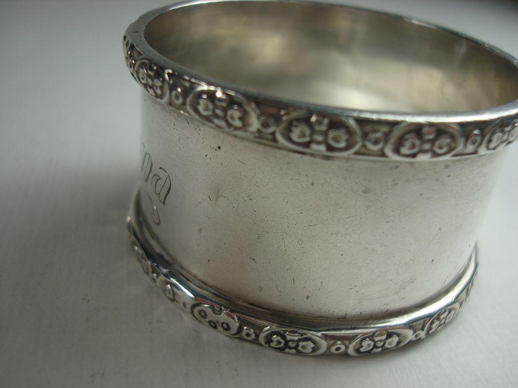 australian sterling mona napkin ring from silverbypatrick