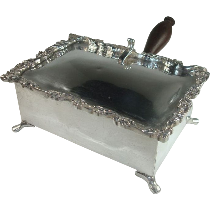 Mexican Heavy Sterling Silent Butler