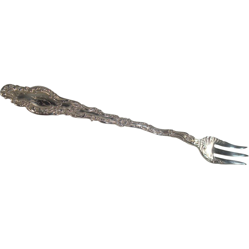 Durgin 1891 Watteau Cocktail Seafood Fork