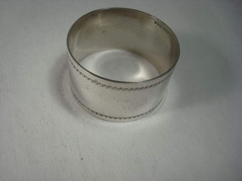 australian sterling napkin ring from silverbypatrick on
