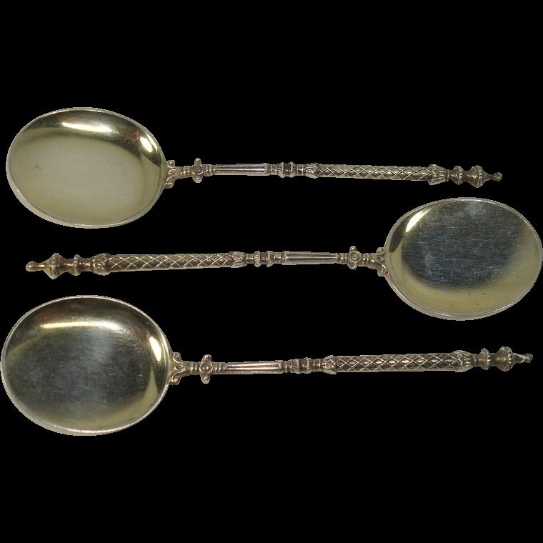 Unique German 800 Demitasse Spoons
