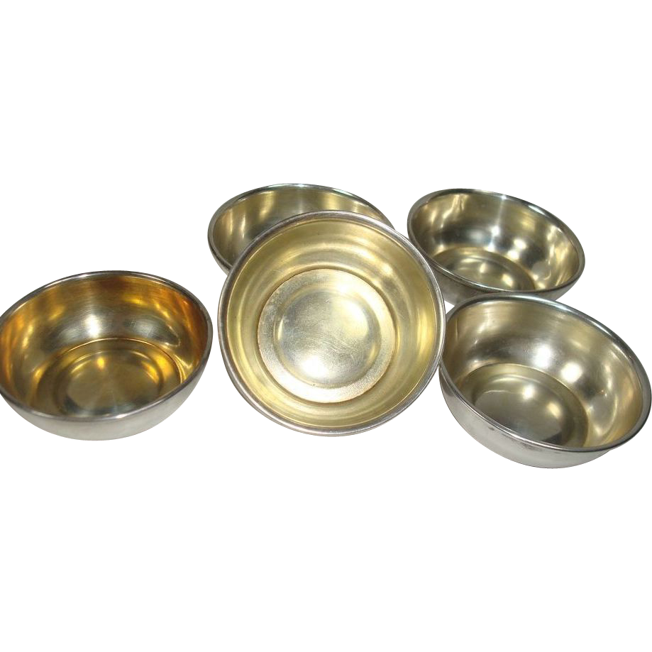 Set of 6 Frank Whiting Open Salts