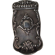 Gorham Art Nouveau Sterling Match Safe or Vesta