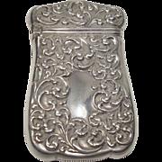 Sterling Art Nouveau Match Safe or Vesta