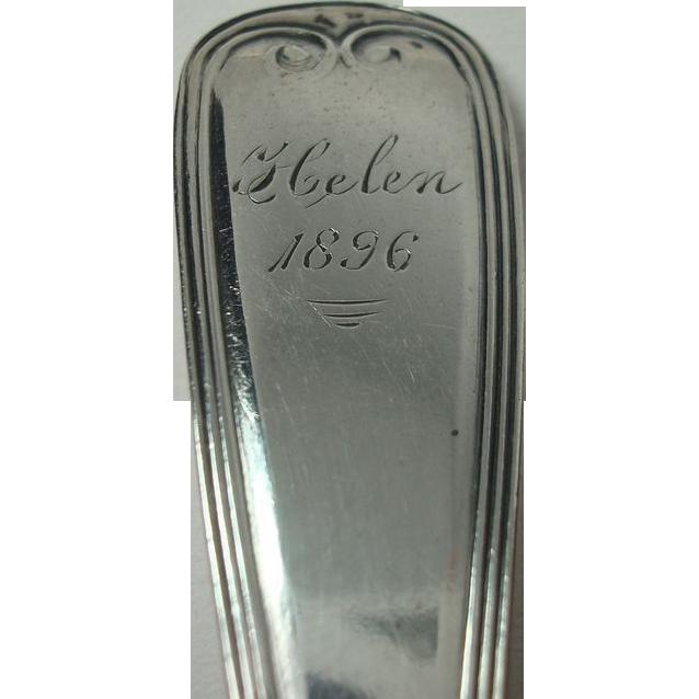 1896 Helen Sterling Spoon