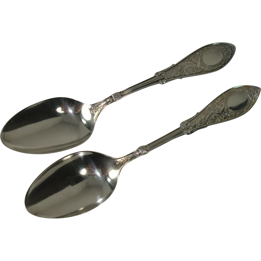 CLOSEOUT !!!Whiting 1875 Arabesque Teaspoons