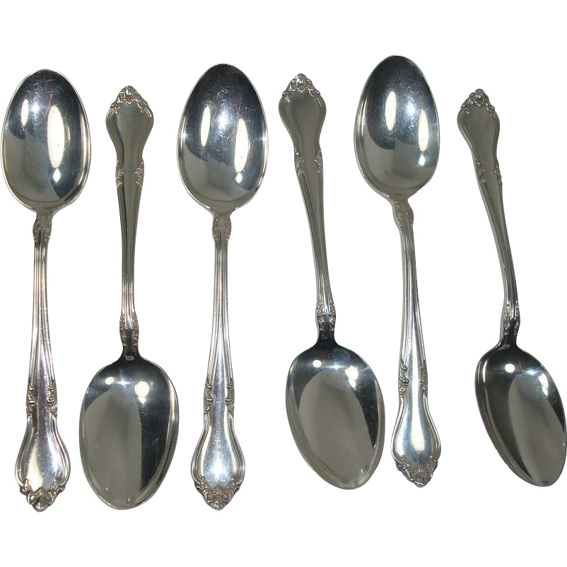 CLOSEOUT!!!  Lunt 1958 Georgian Manor Sterling teaspoons