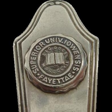 Superior University Iowa Lafayette Teaspoon