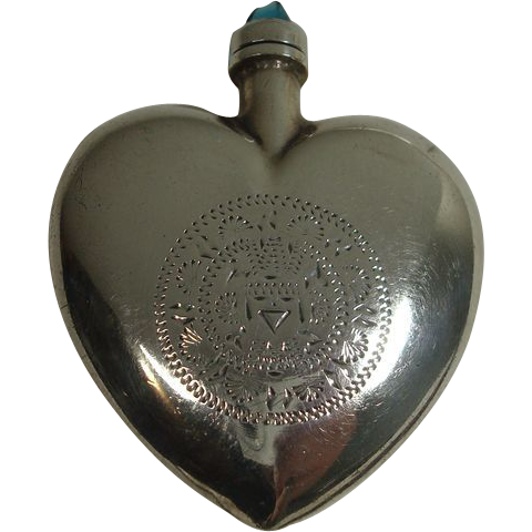 Gorgeous Sterling Perfume or Snuff Bottle