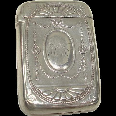 1893 Gorham 970 Match Safe or Vesta