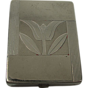 Zanadu by Vantimes's Art Deco Floral Compact or Pill box