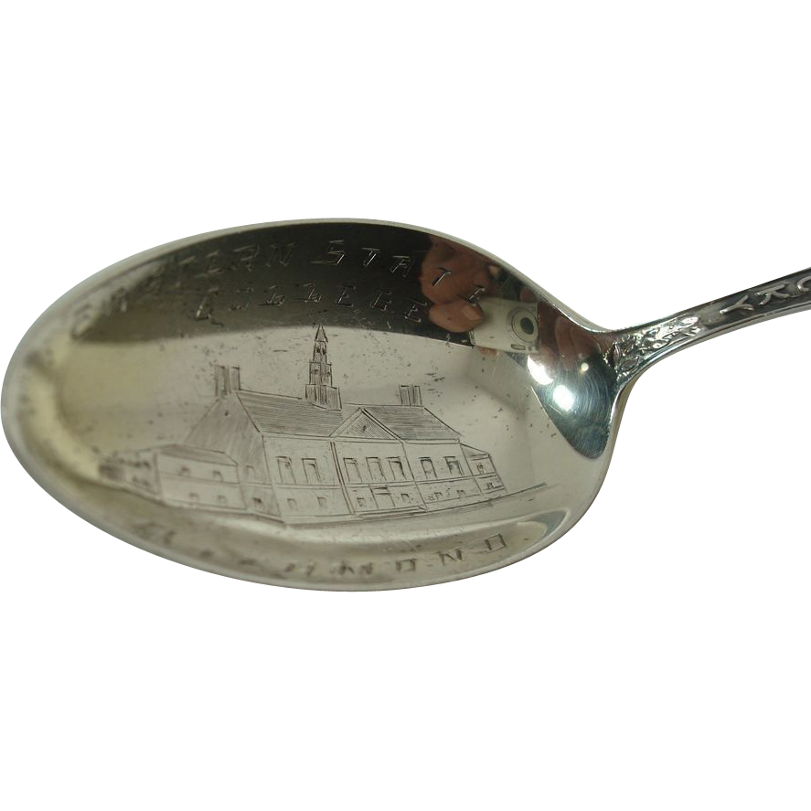 Eastern State College Kentucky Souvenir Spoon