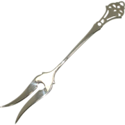Webster Pierced Handle Lemon or Pickle Fork