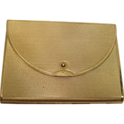 CLOSEOUT!!  Coty Clutch Style Gold Toned Compact