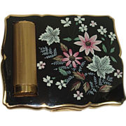 Gorgeous Stratton Floral and Leafe Compact