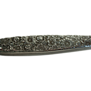 Towle Repousse Sterling Handled Dinner Knife