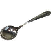 Wolfenden Sterling Short Handled Chocolate Spoon
