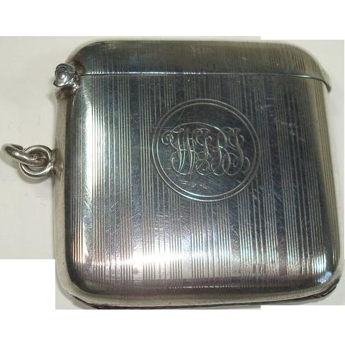 Deakin & Francis Ltd Birmingham 1919 Match Safe or Vesta