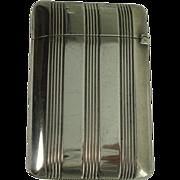 Gorham B2628 Sterling match Safe or Vesta