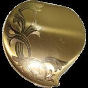 Elgin American Acanthus Art Nouveau Compact