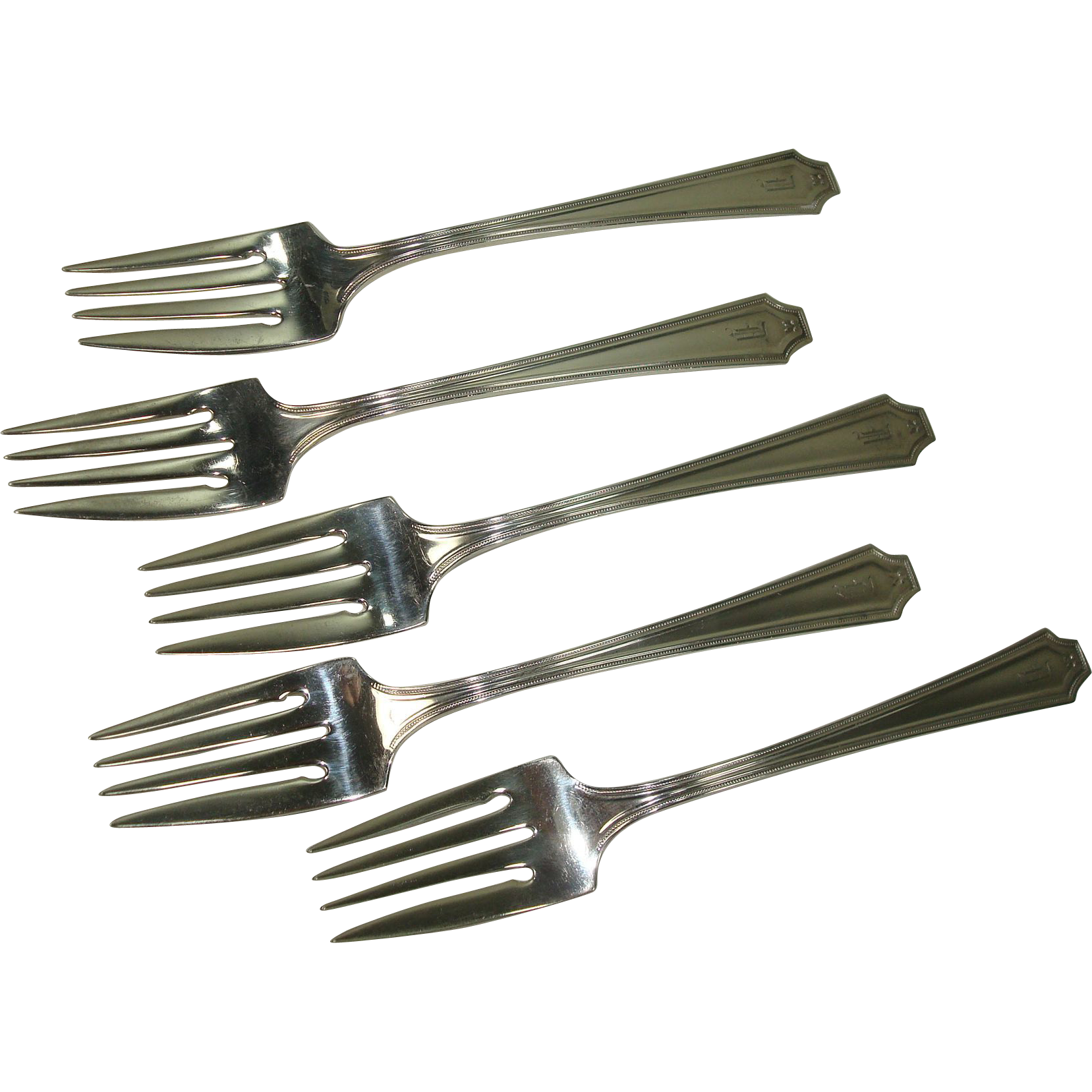 Whiting 1919 King Albert Salad Forks