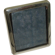 Small 800 Silver Picture Frame from Nurnberg