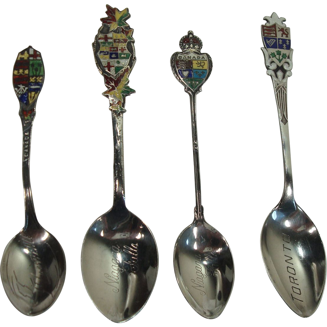 CLOSEOUT!!!!!   Canadian Sterling Souvenir Spoons
