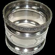 Sterling Engine Turned Napkin Ring