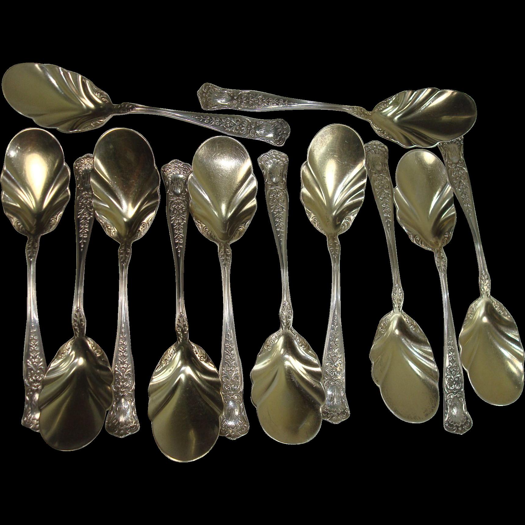 CLOSEOUT!!!   Gorham 1896 Maryland Ice Cream Spoons