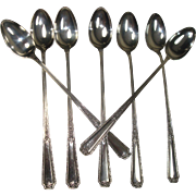 Towle Louis XIV Sterling Iced Tea Spoons