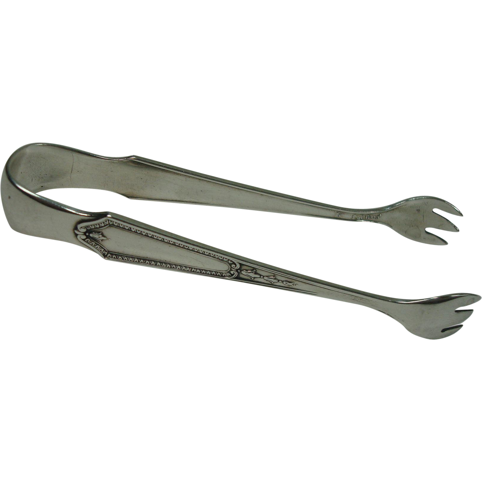 International Silver 1923 Georgian Maid Sugar Tongs