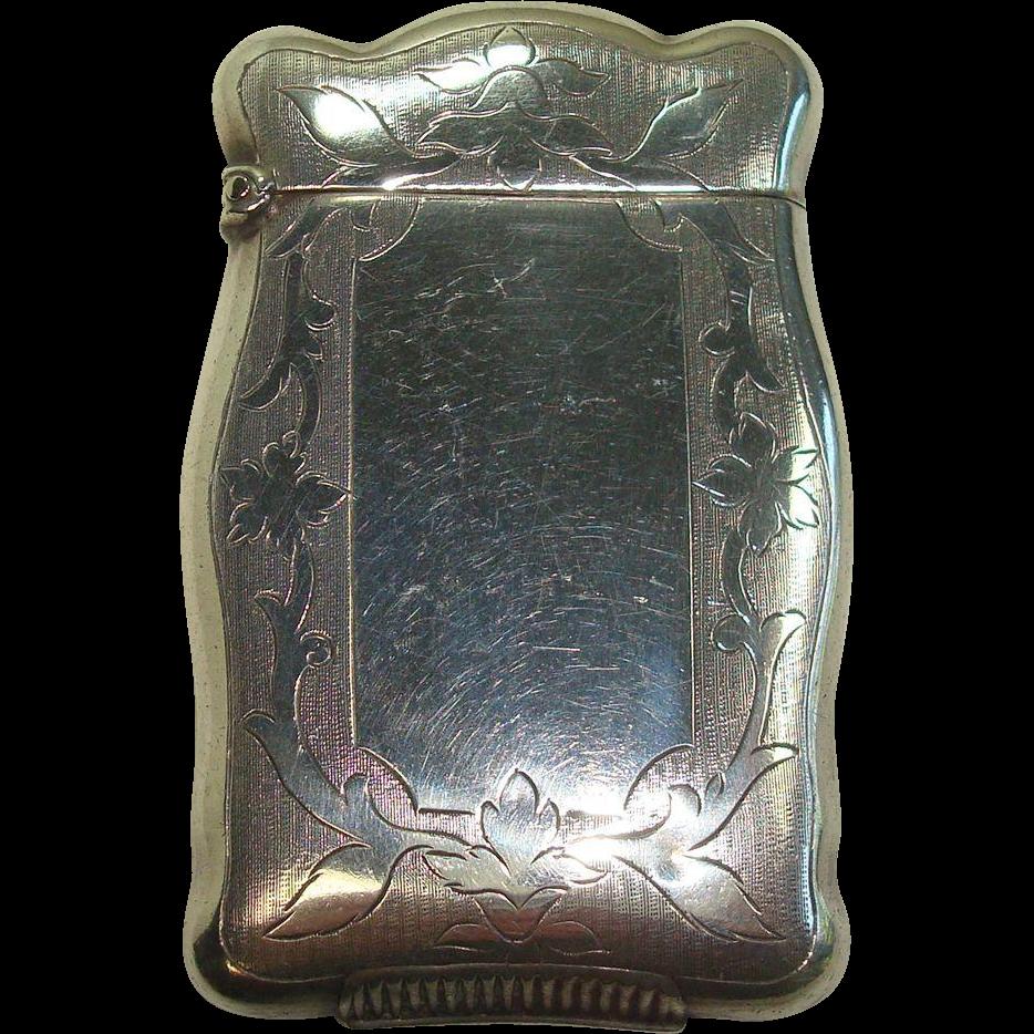 C. 1920 Rare Nussbaum & Hunold Match Safe or Vesta