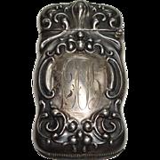 Watrous 1905 Sterling Match Safe or Vesta